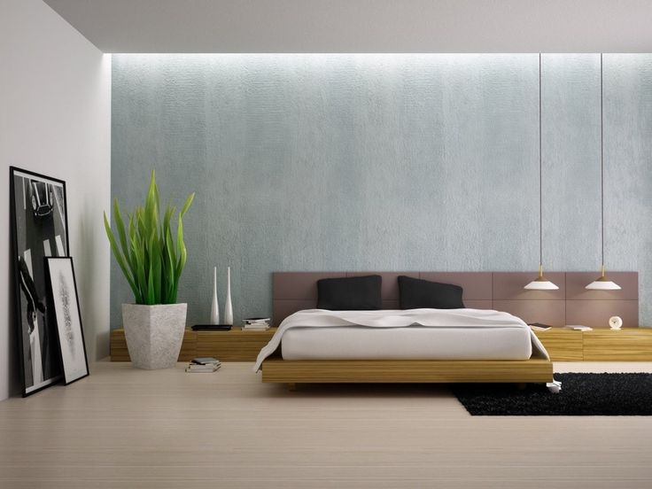 Minimalism has long been a popular look for social areas of the home, but the rising popularity of low-profile beds and greyscale color palettes indicates that