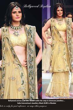 Zarine Khan Bollywood Replica Lehenga