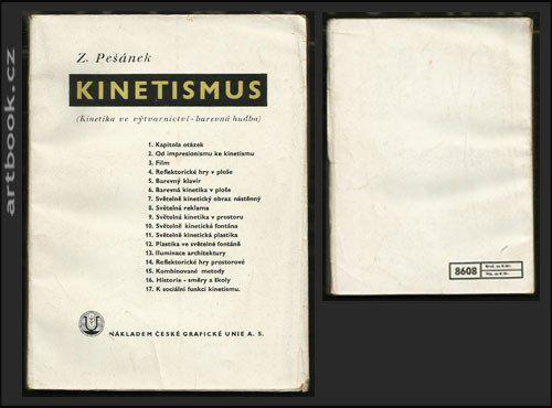 PEŠÁNEK, ZDENĚK: KINETISMUS.  -1941.