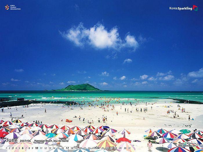 Hyeopjae Beach, Jeju-do Island