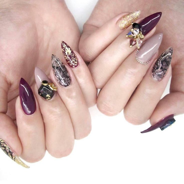110 best Studs and 3D Nail Art images on Pinterest | 3d nails art ...