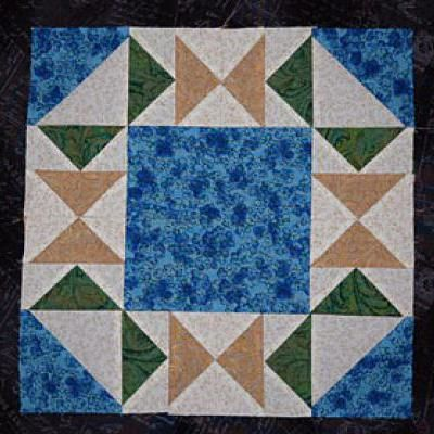 Make Flying In Circles An Easy Flying Geese Quilt Block