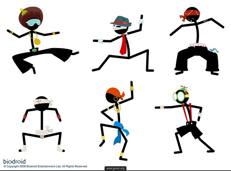 Stickman Character concepts
