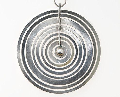 Silver moon pendant by Tapio Wirkkala