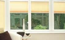 Liven up your conservatory or orangery windows with Perfect Fit blinds. These blinds offer the ultimate in style, and have a unique fitting system that requires no drilling or screwing during installation. Quick and easy to install, stylish and contemporary these blinds will complement your venetian and pleated blinds for that extra finishing touch.