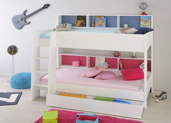 Parisot Tam Tam Bunk Bed White