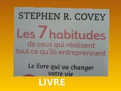 7 HABITUDES DE CEUX QUI Réalisent Tout Ce Qu'ils Entreprennent!2-B!LIVRE...