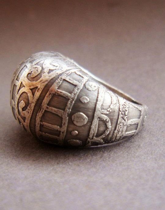 Ring | Natalia Araya.  Sterling silver.