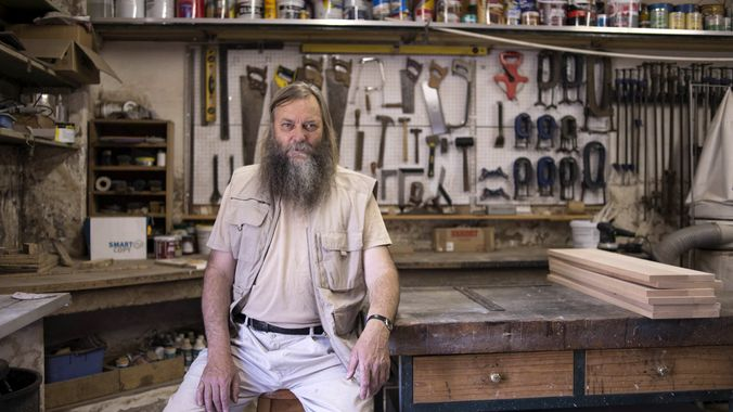 """Like Socrates, artist Willem Boshoff, at 63, is living proof that the """"unexamined life is not worth living""""."""