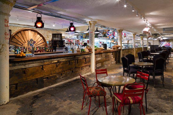 Jak 39 s restaurant bar the king 39 s rd london commercial for Commercial interior design london