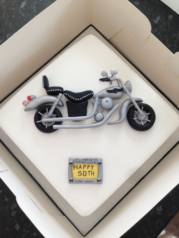 Motorbike cake                                                       …