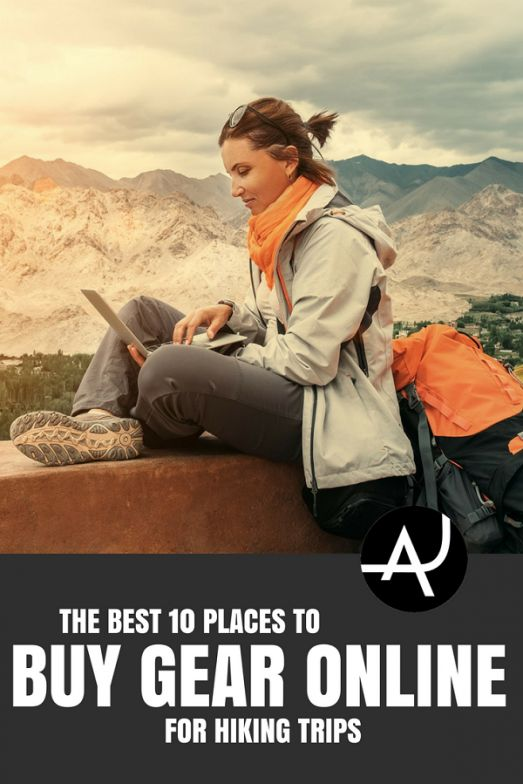 The 10 Best Places to Buy Hiking Gear Online - The Adventure Junkies