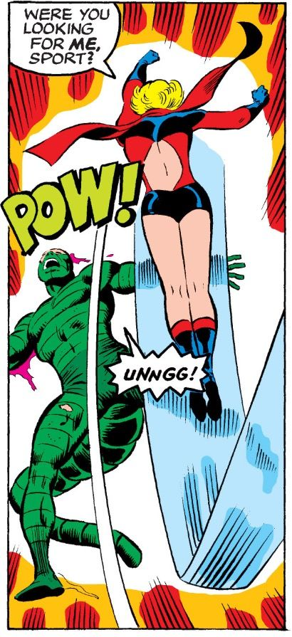 Ms Marvel vs Scorpion