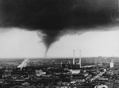 The Oakcliff Tornado That Hit In 1958 Dallas Texas