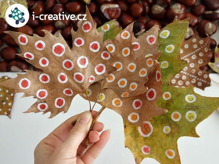 Kreslení na podzimní listy. Čím kreslit? Dozvíte se v návodu (klik na obrázek) :-)