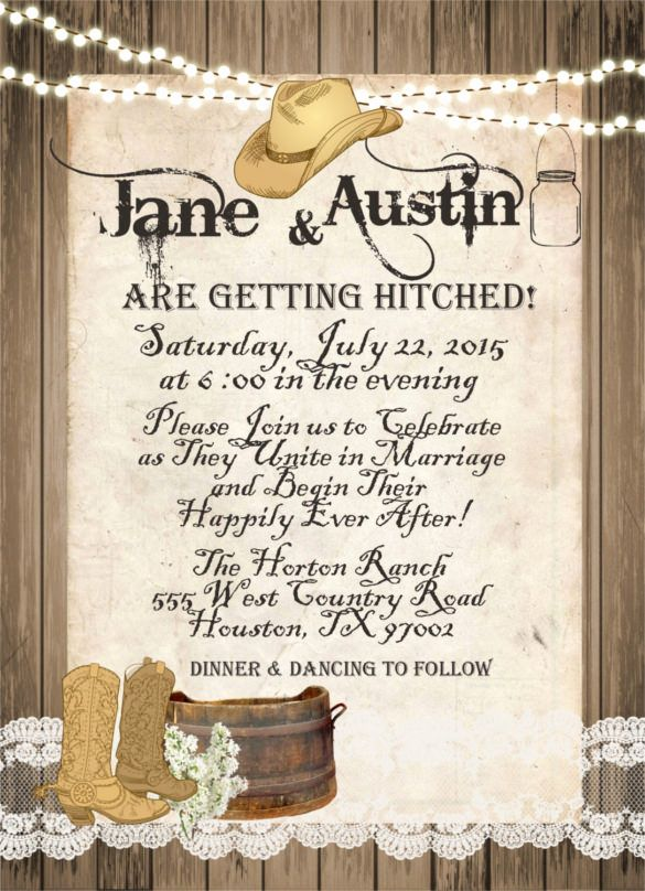 Western Theme Invitation Templates Awesome 28 Western Wedding Invitati Western Wedding Invitations Themed Wedding Invitations Western Theme Wedding Invitations