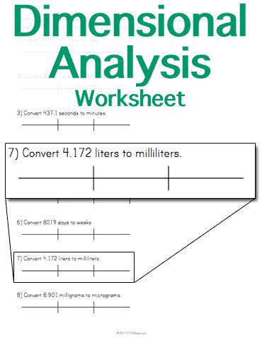 Printables Ipc Worksheets 1000 images about chemistry on pinterest equation mole day and customizable printable dimensional analysis worksheet