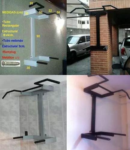 Barras paralelas incluye sistema de instalacion - Maquinas para gimnasio en casa ...