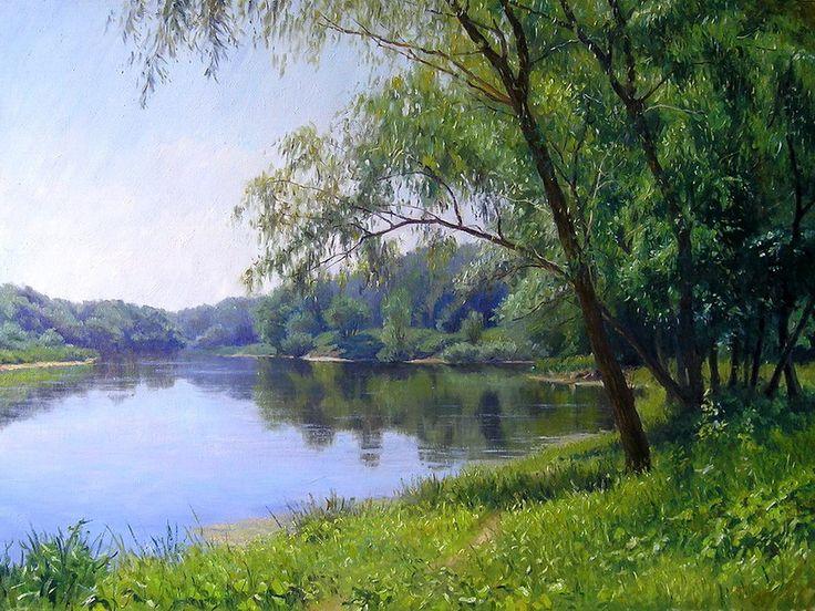 А вот потрясающий художник Геннадий Кириченко из Луганска: tschelovek