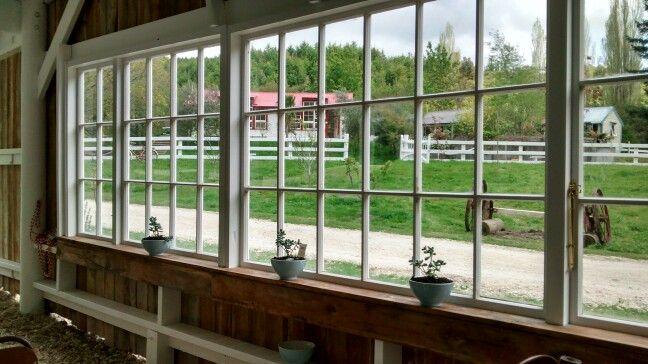 Inside the big barn @oldforestschool