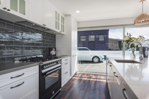 Modern country kitchen with Caesarstone island bench