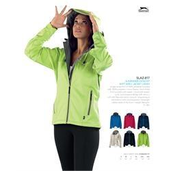 Branded Slazenger Catalyst Soft Shell Jacket - Ladies' | Corporate Logo Slazenger Catalyst Soft Shell Jacket - Ladies' | Corporate Clothing