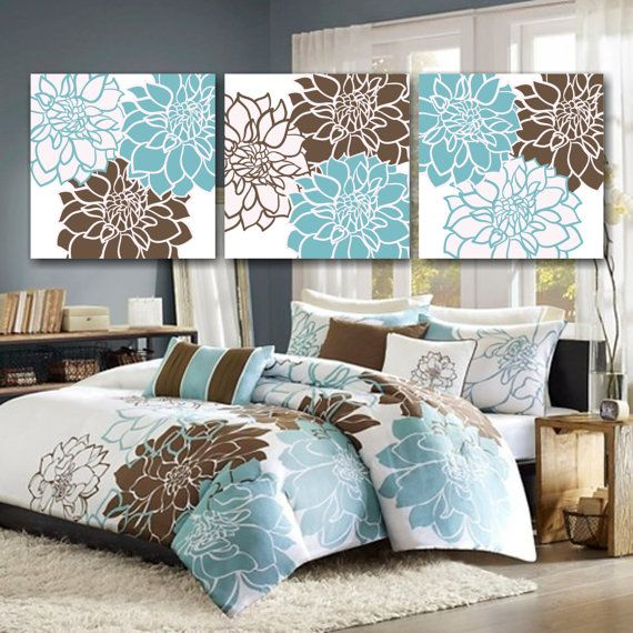 Teal And Brown Wall Art best 25+ teal brown bedrooms ideas on pinterest | blue color