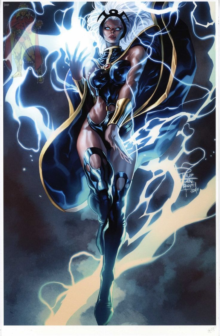 Storm by Philip Tan and colours by Elmer Santos