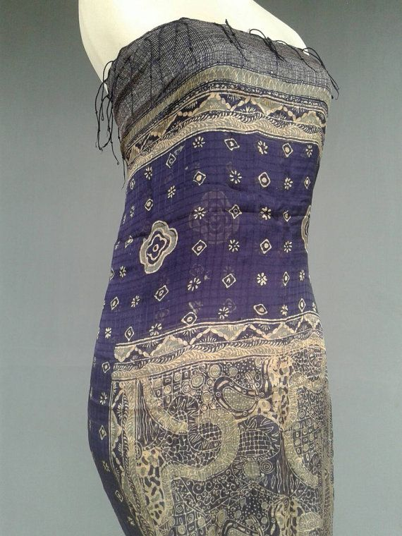 BOHO Shawl. Gipsy Wrap. Hippie Skirt. Whatever the mood.. However you feel... Versatile ! Etsy shop https://www.etsy.com/listing/479435765/blue-gold-silk-shawl-batik-wrap-dress