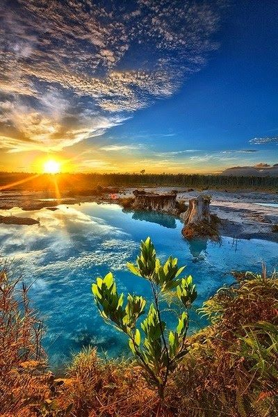 Blue Lake - Indonesia