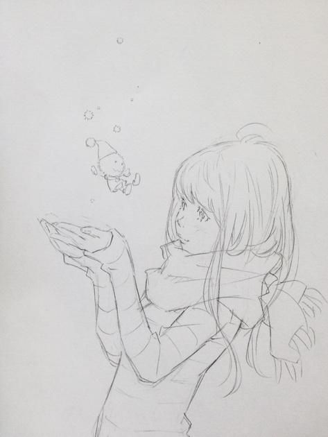 雪の妖精。