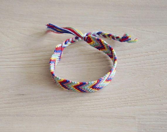 bracelet brésilien bracelet de l'amitié chevron