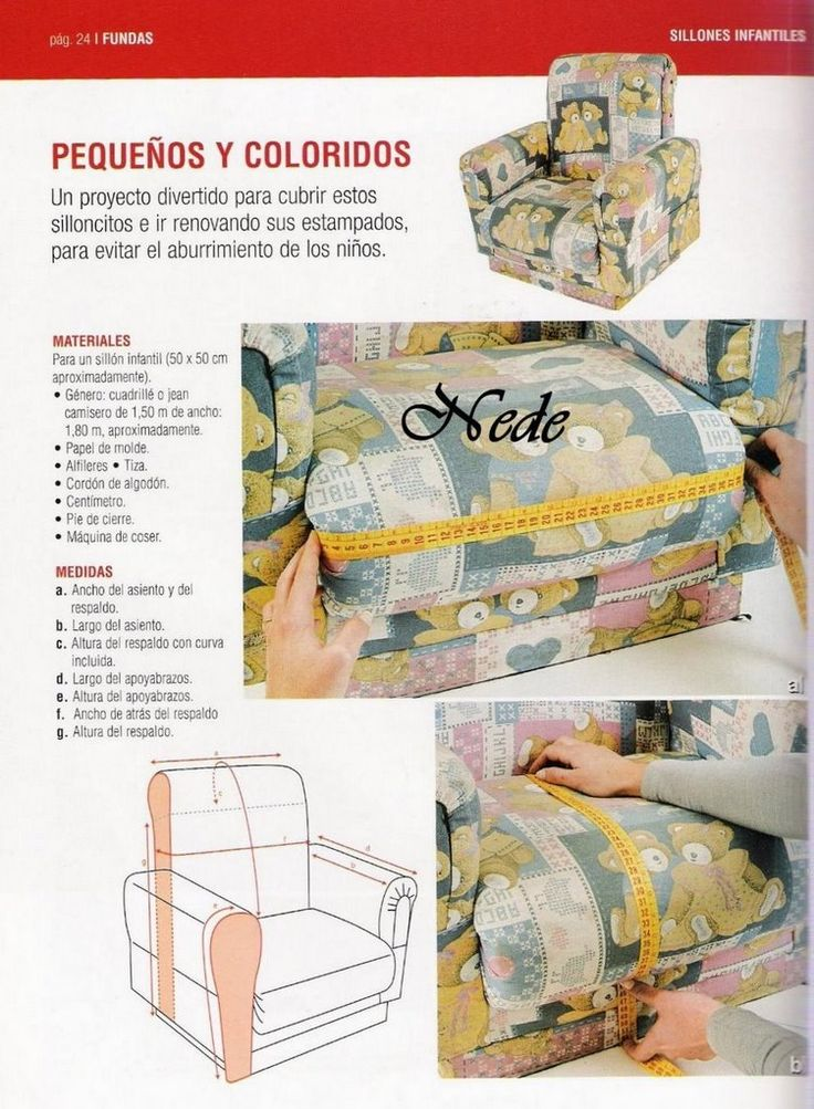 59 best trucos de costura images on Pinterest | Sofa covers, Crafts ...