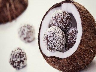 Coconut Chocolate HD Wallpaper