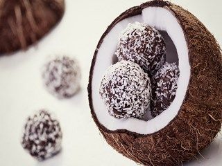 Coconut Chocolate HD Wallpaper