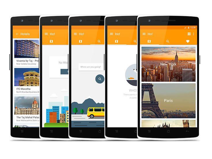 Ho! - Hotel Discovery App