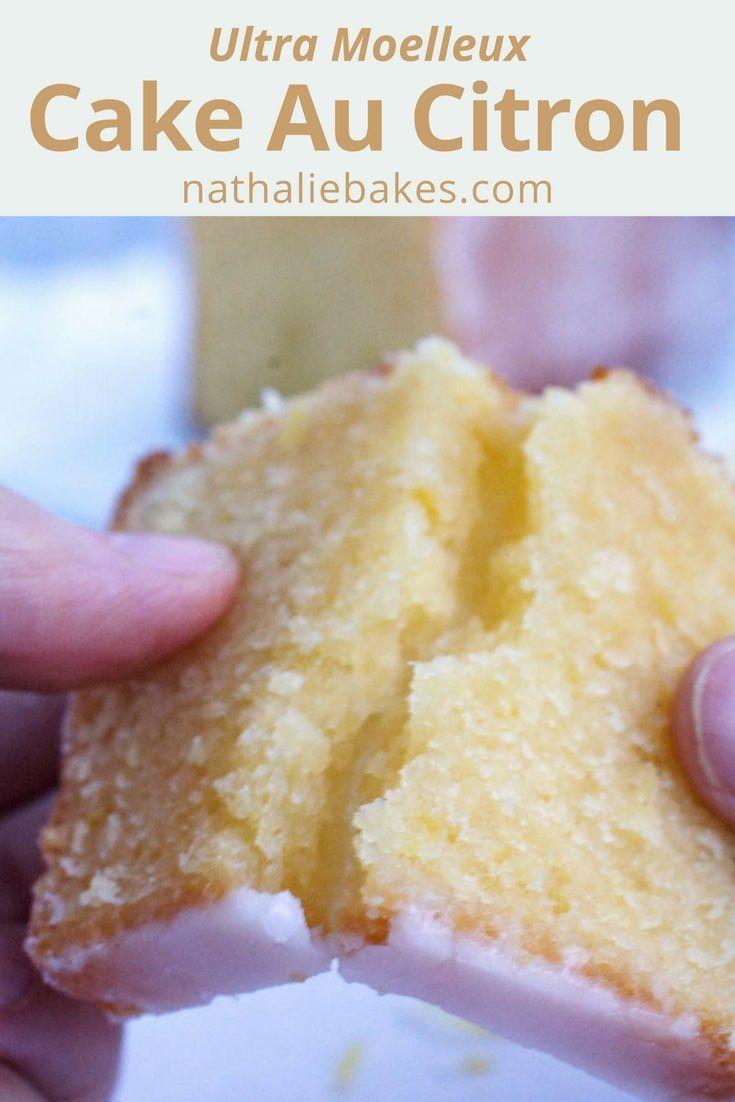 Recette de cake au citron de Bernard Laurance: un gâteau ultra moelleux et parfumé, recouvert d'un glaçage au citron. Délicieux!