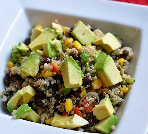This month's recipe from Two Fit Girls packs a ton of fresh flavor and nutrition into this Southwest Quinoa Salad.