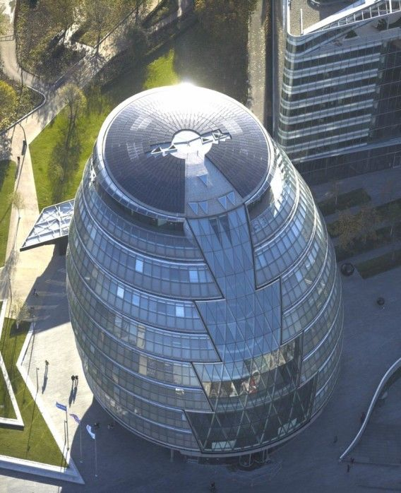 Famous Architects - Norman Foster - City Hall, London