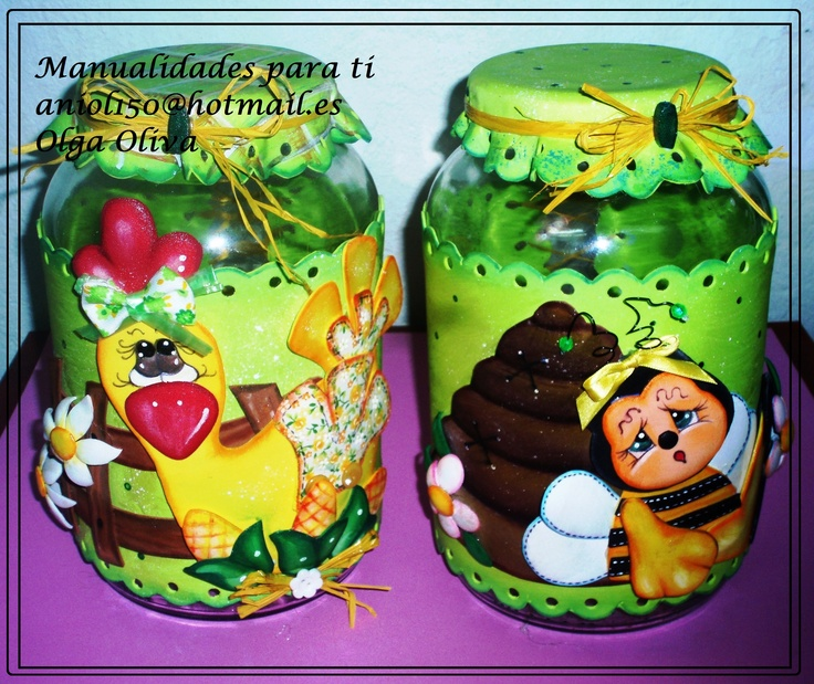 vidrios decorados
