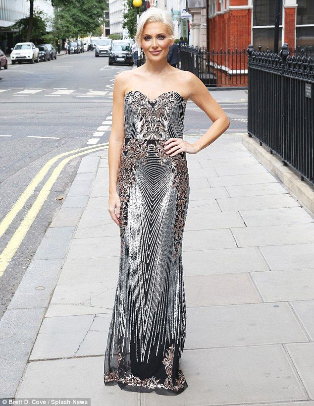 Special edition: Stephanie Pratt was spotted making her way to the London EDITION hotel in the English capital on Wednesday afternoon