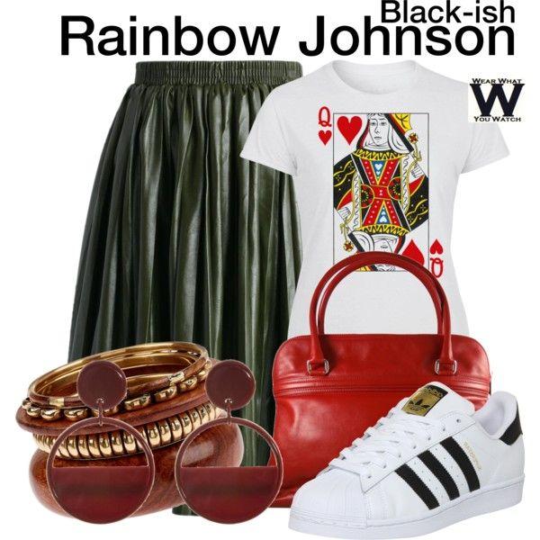 Inspired by Tracee Ellis Ross as Rainbow Johnson on Black-ish.
