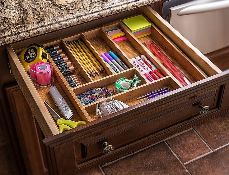 Shop for Ancona life Large Expandable Cutlery Tray & Drawer Organizer, Utensil Organizer 7 Compartments, 2 with Adjustable Dimensions, Beautiful and Durable Bamboo at the Competitive Price on CROV.com