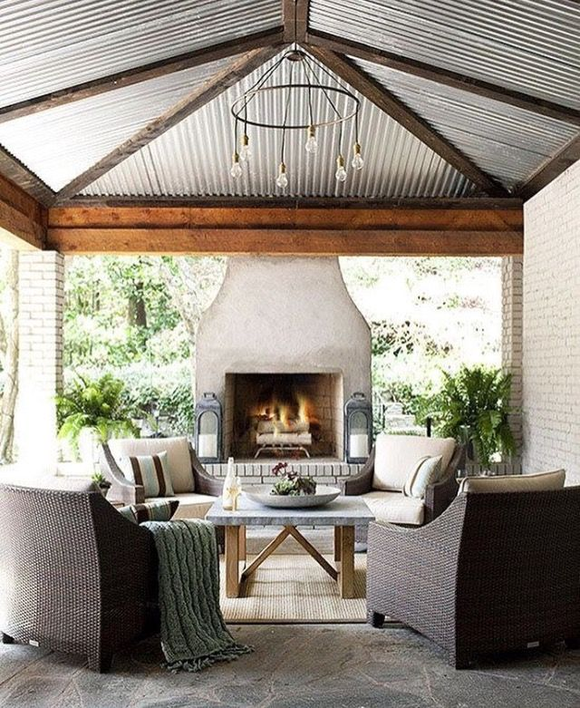 Outdoor Kitchen Roof: Best 25+ Patio Roof Ideas On Pinterest