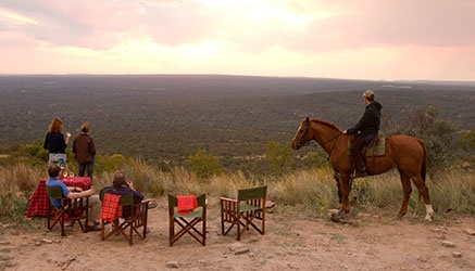 Horse riding safaris at Ant's. Beautiful South Africa.