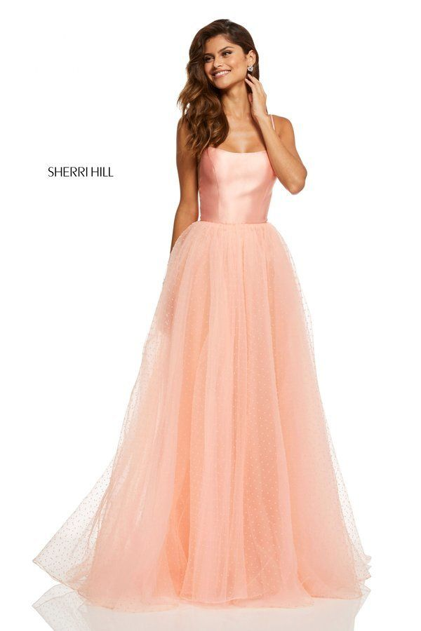 c253633f340d Sherri Hill Style 52639 | Spring 2019 Collection Preview in 2019 | Prom  dresses, Sherri hill prom dresses, Dresses