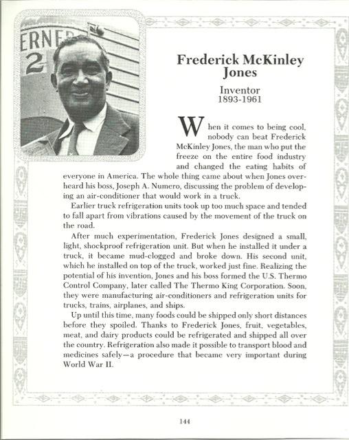Frederick McKinley Jones (May 17, 1893 February 21, 1961