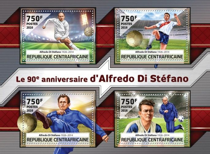 CA16514a The 90th anniversary of Alfredo Di Stefano (Alfredo Di Stefano (1926-2014))