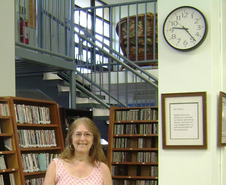 Gail Baugniet shares some pictures from The Makiki Community Library in Honolulu at her blog: http://gail-baugniet.blogspot.com/2012/04/shadowing-librarian-for-sister-in-crime.html.