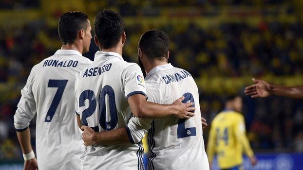 Cristiano Ronaldo sai faz cara feia e vê Real Madrid levar empate do Las Palmas - ESPN.com.br